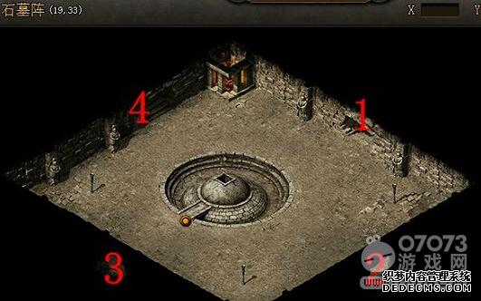 屠龙战记军士长在哪 石墓阵怎么走